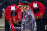 Remembrance Sunday at the Cenotaph in London 2014: HRH The Duke of Kent walking towards the Cenotaph with his wreath. Press stand opposite the Foreign Office building, Whitehall, London SW1, London, Greater London, United Kingdom, on 09 November 2014 at 11:06, image #215