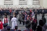 Remembrance Sunday at the Cenotaph in London 2014: Members of the Royal Family at the Cenotaph. Press stand opposite the Foreign Office building, Whitehall, London SW1, London, Greater London, United Kingdom, on 09 November 2014 at 11:10, image #237