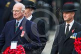 Remembrance Sunday at the Cenotaph in London 2014: Patrick Mitford-Slade for the Royal Commonwealth Ex-Services League. Press stand opposite the Foreign Office building, Whitehall, London SW1, London, Greater London, United Kingdom, on 09 November 2014 at 11:26, image #306