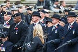 Remembrance Sunday at the Cenotaph 2015: Group B3, 3rd Regiment Royal Horse Artillery Association. Cenotaph, Whitehall, London SW1, London, Greater London, United Kingdom, on 08 November 2015 at 11:36, image #24