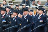 Remembrance Sunday at the Cenotaph 2015: Group B3, 3rd Regiment Royal Horse Artillery Association. Cenotaph, Whitehall, London SW1, London, Greater London, United Kingdom, on 08 November 2015 at 11:36, image #25