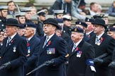 Remembrance Sunday at the Cenotaph 2015: Group B3, 3rd Regiment Royal Horse Artillery Association. Cenotaph, Whitehall, London SW1, London, Greater London, United Kingdom, on 08 November 2015 at 11:36, image #26