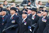Remembrance Sunday at the Cenotaph 2015: Group B3, 3rd Regiment Royal Horse Artillery Association. Cenotaph, Whitehall, London SW1, London, Greater London, United Kingdom, on 08 November 2015 at 11:36, image #27