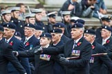 Remembrance Sunday at the Cenotaph 2015: Group B3, 3rd Regiment Royal Horse Artillery Association. Cenotaph, Whitehall, London SW1, London, Greater London, United Kingdom, on 08 November 2015 at 11:36, image #30