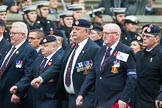 Remembrance Sunday at the Cenotaph 2015: Group B6, Royal Engineers Bomb Disposal Association (Anniversary). Cenotaph, Whitehall, London SW1, London, Greater London, United Kingdom, on 08 November 2015 at 11:37, image #46