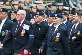 Remembrance Sunday at the Cenotaph 2015: Group B6, Royal Engineers Bomb Disposal Association (Anniversary). Cenotaph, Whitehall, London SW1, London, Greater London, United Kingdom, on 08 November 2015 at 11:37, image #47