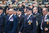 Remembrance Sunday at the Cenotaph 2015: Group B6, Royal Engineers Bomb Disposal Association (Anniversary). Cenotaph, Whitehall, London SW1, London, Greater London, United Kingdom, on 08 November 2015 at 11:37, image #52