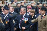 Remembrance Sunday at the Cenotaph 2015: Group B6, Royal Engineers Bomb Disposal Association (Anniversary). Cenotaph, Whitehall, London SW1, London, Greater London, United Kingdom, on 08 November 2015 at 11:37, image #53
