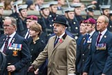 Remembrance Sunday at the Cenotaph 2015: Group B6, Royal Engineers Bomb Disposal Association (Anniversary). Cenotaph, Whitehall, London SW1, London, Greater London, United Kingdom, on 08 November 2015 at 11:37, image #54