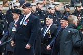 Remembrance Sunday at the Cenotaph 2015: Group B8, Royal Signals Association. Cenotaph, Whitehall, London SW1, London, Greater London, United Kingdom, on 08 November 2015 at 11:37, image #60