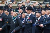 Remembrance Sunday at the Cenotaph 2015: Group B8, Royal Signals Association. Cenotaph, Whitehall, London SW1, London, Greater London, United Kingdom, on 08 November 2015 at 11:37, image #62