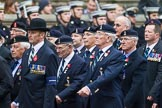 Remembrance Sunday at the Cenotaph 2015: Group B8, Royal Signals Association. Cenotaph, Whitehall, London SW1, London, Greater London, United Kingdom, on 08 November 2015 at 11:37, image #63