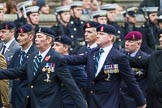 Remembrance Sunday at the Cenotaph 2015: Group B8, Royal Signals Association. Cenotaph, Whitehall, London SW1, London, Greater London, United Kingdom, on 08 November 2015 at 11:37, image #66