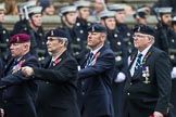 Remembrance Sunday at the Cenotaph 2015: Group B8, Royal Signals Association. Cenotaph, Whitehall, London SW1, London, Greater London, United Kingdom, on 08 November 2015 at 11:37, image #68