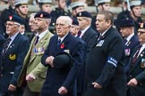 Remembrance Sunday at the Cenotaph 2015: Group B11, RAOC Association. Cenotaph, Whitehall, London SW1, London, Greater London, United Kingdom, on 08 November 2015 at 11:38, image #91