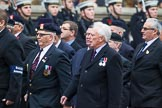 Remembrance Sunday at the Cenotaph 2015: Group B11, RAOC Association. Cenotaph, Whitehall, London SW1, London, Greater London, United Kingdom, on 08 November 2015 at 11:38, image #92