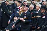 Remembrance Sunday at the Cenotaph 2015: Group B12, Army Catering Corps Association. Cenotaph, Whitehall, London SW1, London, Greater London, United Kingdom, on 08 November 2015 at 11:38, image #94