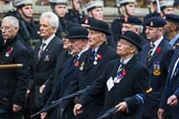 Remembrance Sunday at the Cenotaph 2015: Group B12, Army Catering Corps Association. Cenotaph, Whitehall, London SW1, London, Greater London, United Kingdom, on 08 November 2015 at 11:38, image #96