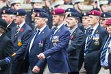 Remembrance Sunday at the Cenotaph 2015: Group B12, Army Catering Corps Association. Cenotaph, Whitehall, London SW1, London, Greater London, United Kingdom, on 08 November 2015 at 11:38, image #97