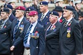 Remembrance Sunday at the Cenotaph 2015: Group B12, Army Catering Corps Association. Cenotaph, Whitehall, London SW1, London, Greater London, United Kingdom, on 08 November 2015 at 11:38, image #98