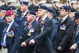 Remembrance Sunday at the Cenotaph 2015: Group B12, Army Catering Corps Association. Cenotaph, Whitehall, London SW1, London, Greater London, United Kingdom, on 08 November 2015 at 11:38, image #99