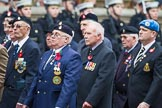 Remembrance Sunday at the Cenotaph 2015: Group B12, Army Catering Corps Association. Cenotaph, Whitehall, London SW1, London, Greater London, United Kingdom, on 08 November 2015 at 11:38, image #101