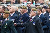 Remembrance Sunday at the Cenotaph 2015: Group B13, Royal Pioneer Corps Association (Anniversary). Cenotaph, Whitehall, London SW1, London, Greater London, United Kingdom, on 08 November 2015 at 11:39, image #108