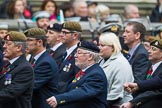 Remembrance Sunday at the Cenotaph 2015: Group B13, Royal Pioneer Corps Association (Anniversary). Cenotaph, Whitehall, London SW1, London, Greater London, United Kingdom, on 08 November 2015 at 11:39, image #109