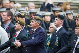 Remembrance Sunday at the Cenotaph 2015: Group B13, Royal Pioneer Corps Association (Anniversary). Cenotaph, Whitehall, London SW1, London, Greater London, United Kingdom, on 08 November 2015 at 11:39, image #110
