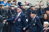 Remembrance Sunday at the Cenotaph 2015: Group B14, Royal Army Medical Corps Association. Cenotaph, Whitehall, London SW1, London, Greater London, United Kingdom, on 08 November 2015 at 11:39, image #114