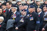 Remembrance Sunday at the Cenotaph 2015: Group B14, Royal Army Medical Corps Association. Cenotaph, Whitehall, London SW1, London, Greater London, United Kingdom, on 08 November 2015 at 11:39, image #116