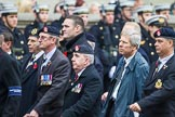 Remembrance Sunday at the Cenotaph 2015: Group B14, Royal Army Medical Corps Association. Cenotaph, Whitehall, London SW1, London, Greater London, United Kingdom, on 08 November 2015 at 11:39, image #117