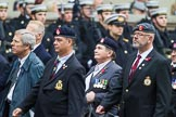 Remembrance Sunday at the Cenotaph 2015: Group B14, Royal Army Medical Corps Association. Cenotaph, Whitehall, London SW1, London, Greater London, United Kingdom, on 08 November 2015 at 11:39, image #118