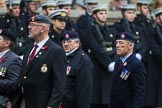 Remembrance Sunday at the Cenotaph 2015: Group B14, Royal Army Medical Corps Association. Cenotaph, Whitehall, London SW1, London, Greater London, United Kingdom, on 08 November 2015 at 11:39, image #119