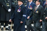 Remembrance Sunday at the Cenotaph 2015: Group B15, Royal Electrical & Mechanical Engineers Association. Cenotaph, Whitehall, London SW1, London, Greater London, United Kingdom, on 08 November 2015 at 11:39, image #120