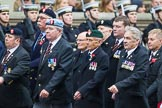 Remembrance Sunday at the Cenotaph 2015: Group B15, Royal Electrical & Mechanical Engineers Association. Cenotaph, Whitehall, London SW1, London, Greater London, United Kingdom, on 08 November 2015 at 11:39, image #122