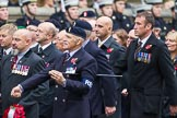Remembrance Sunday at the Cenotaph 2015: Group B15, Royal Electrical & Mechanical Engineers Association. Cenotaph, Whitehall, London SW1, London, Greater London, United Kingdom, on 08 November 2015 at 11:39, image #124