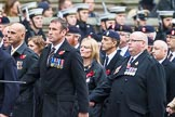 Remembrance Sunday at the Cenotaph 2015: Group B15, Royal Electrical & Mechanical Engineers Association. Cenotaph, Whitehall, London SW1, London, Greater London, United Kingdom, on 08 November 2015 at 11:39, image #125