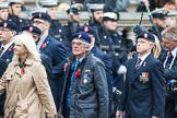 Remembrance Sunday at the Cenotaph 2015: Group B15, Royal Electrical & Mechanical Engineers Association. Cenotaph, Whitehall, London SW1, London, Greater London, United Kingdom, on 08 November 2015 at 11:39, image #127