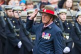 Remembrance Sunday at the Cenotaph 2015: Group B16, Royal Military Police Association. Cenotaph, Whitehall, London SW1, London, Greater London, United Kingdom, on 08 November 2015 at 11:39, image #129