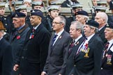 Remembrance Sunday at the Cenotaph 2015: Group B18, Royal Army Pay Corps Regimental Association. Cenotaph, Whitehall, London SW1, London, Greater London, United Kingdom, on 08 November 2015 at 11:40, image #142