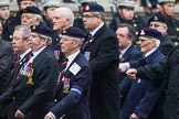 Remembrance Sunday at the Cenotaph 2015: Group B18, Royal Army Pay Corps Regimental Association. Cenotaph, Whitehall, London SW1, London, Greater London, United Kingdom, on 08 November 2015 at 11:40, image #144