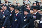 Remembrance Sunday at the Cenotaph 2015: Group B19, Royal Army Veterinary Corps & Royal Army Dental Corps. Cenotaph, Whitehall, London SW1, London, Greater London, United Kingdom, on 08 November 2015 at 11:40, image #148