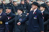 Remembrance Sunday at the Cenotaph 2015: Group B19, Royal Army Veterinary Corps & Royal Army Dental Corps. Cenotaph, Whitehall, London SW1, London, Greater London, United Kingdom, on 08 November 2015 at 11:40, image #150