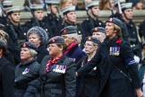 Remembrance Sunday at the Cenotaph 2015: Group B21, Queen Alexandra's Royal Army Nursing Corps Association. Cenotaph, Whitehall, London SW1, London, Greater London, United Kingdom, on 08 November 2015 at 11:40, image #167