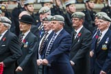 Remembrance Sunday at the Cenotaph 2015: Group B22, Royal Scots Dragoon Guards. Cenotaph, Whitehall, London SW1, London, Greater London, United Kingdom, on 08 November 2015 at 11:40, image #172
