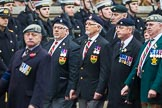 Remembrance Sunday at the Cenotaph 2015: Group B23, Royal Scots Dragoon Guards. Cenotaph, Whitehall, London SW1, London, Greater London, United Kingdom, on 08 November 2015 at 11:40, image #175