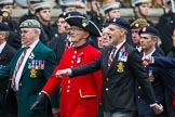Remembrance Sunday at the Cenotaph 2015: Group B23, Royal Scots Dragoon Guards. Cenotaph, Whitehall, London SW1, London, Greater London, United Kingdom, on 08 November 2015 at 11:40, image #177
