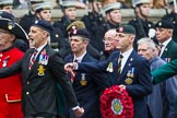 Remembrance Sunday at the Cenotaph 2015: Group B23, Royal Scots Dragoon Guards. Cenotaph, Whitehall, London SW1, London, Greater London, United Kingdom, on 08 November 2015 at 11:40, image #178