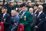 Remembrance Sunday at the Cenotaph 2015: Group B23, Royal Scots Dragoon Guards. Cenotaph, Whitehall, London SW1, London, Greater London, United Kingdom, on 08 November 2015 at 11:40, image #180